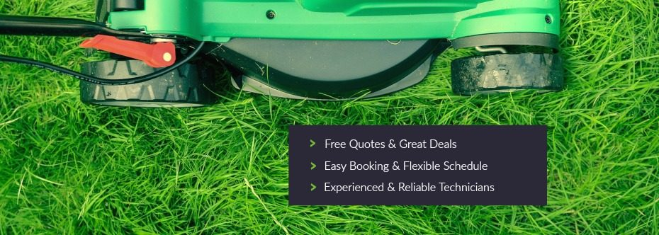 lawn mowing images